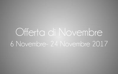 [Scaduta] Offerta di Novembre