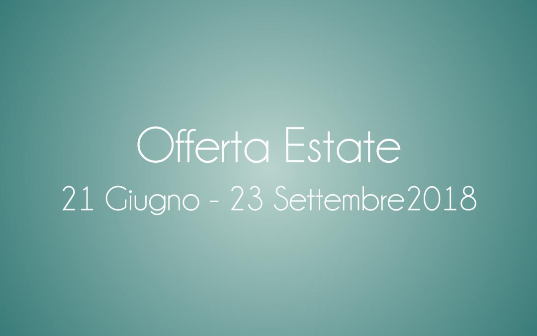 Offerta Estate 2018